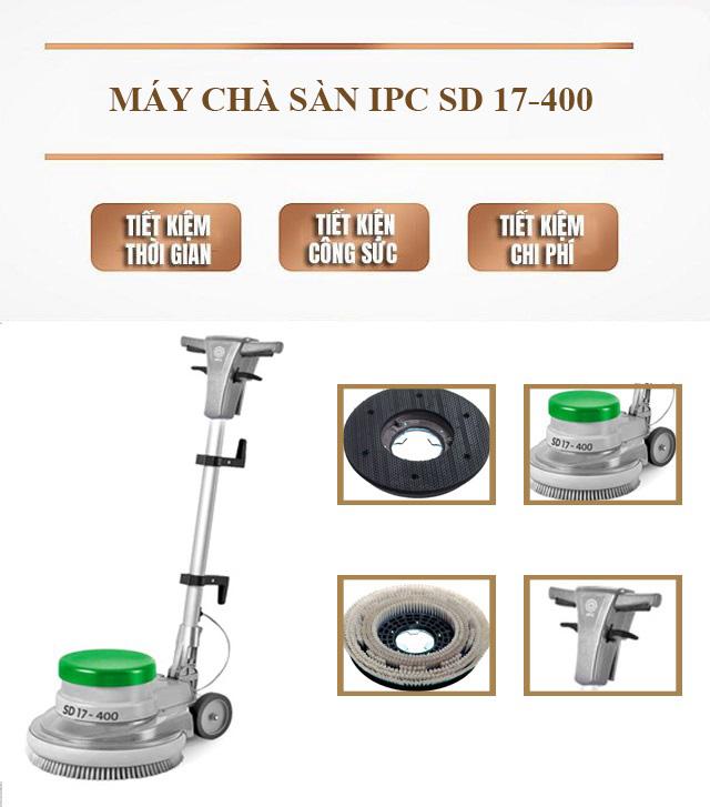 Model chà sàn đơn IPC SD 17-400