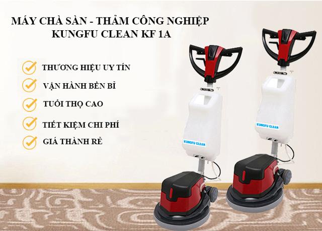 Model chà sàn - thảm công nghiệp Kungfu Clean KF 1A