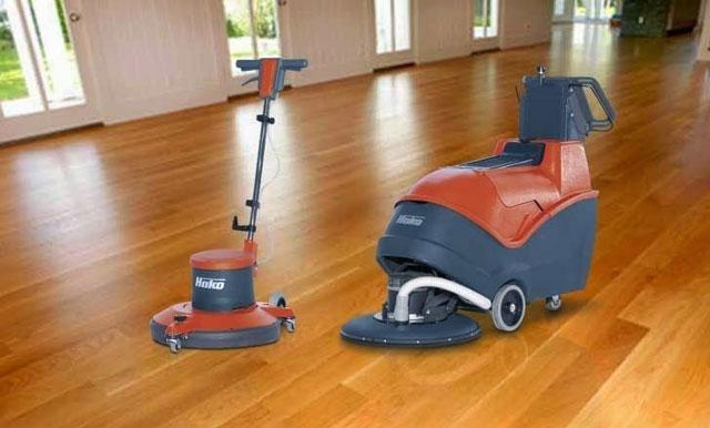 Máy chà sàn và đánh bóng sàn gỗ