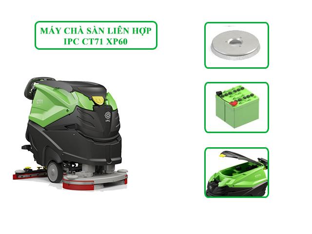Model chà sàn liên hợp IPC CT71 XP60