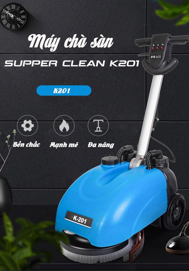 Máy chà sàn liên hợp mini Supper Clean K201-4