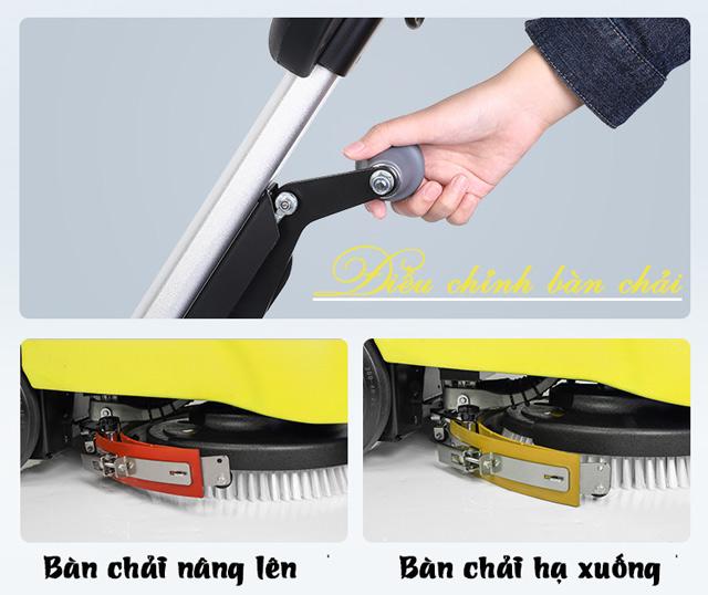 Máy chà sàn liên hợp mini Supper Clean T201-2