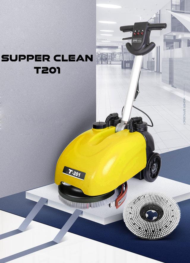 Máy chà sàn liên hợp mini Supper Clean T201-4