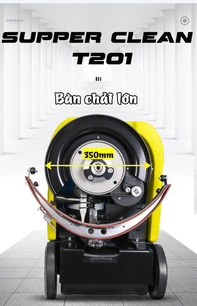 Máy chà sàn liên hợp mini Supper Clean T201-6