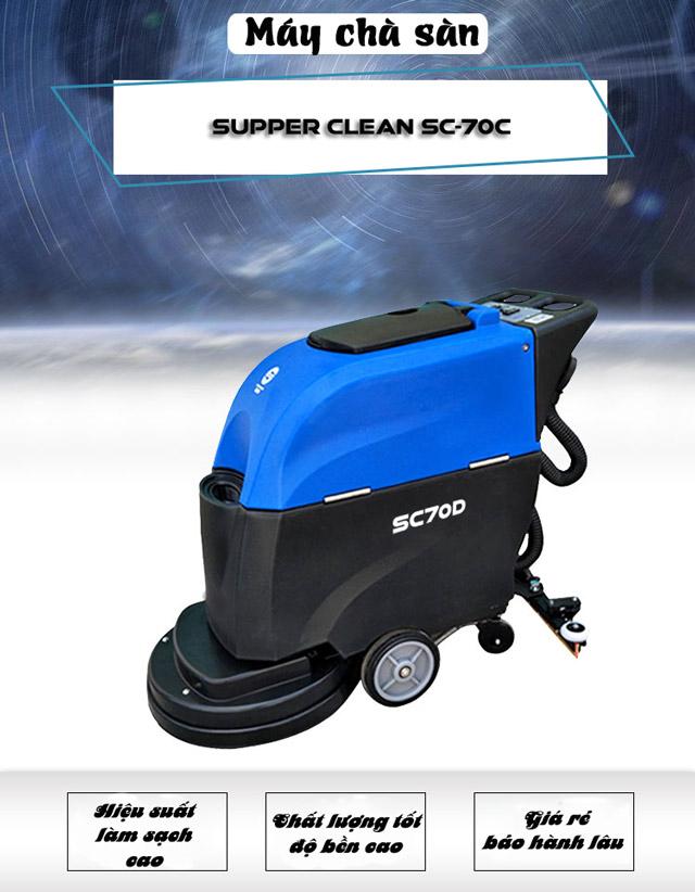 Máy chà sàn liên hợp Supper Clean SC-70D-3