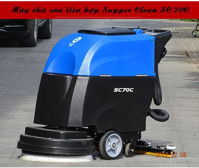 Máy chà sàn liên hợp Supper Clean SC70C-4