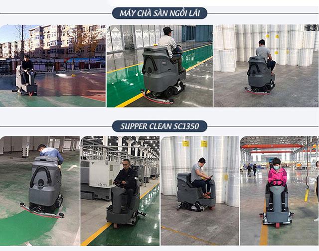 Máy chà sàn công nghiệp Supper Clean SC1350