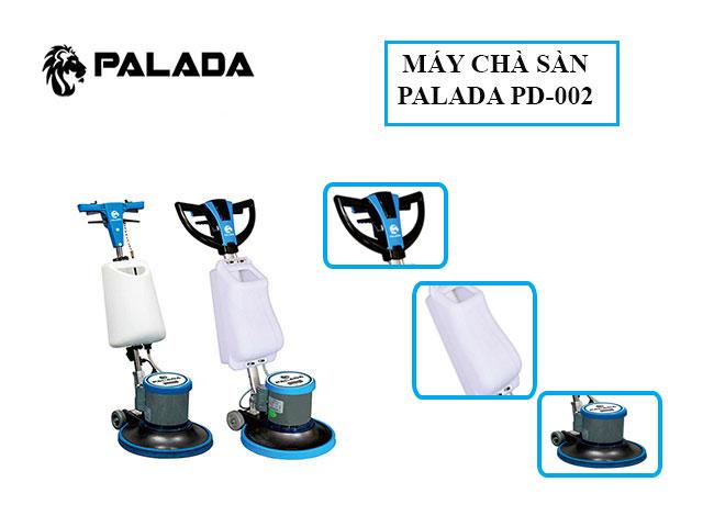 Palada PD 002 - Thiết kế hiện đại, tính cơ động cao