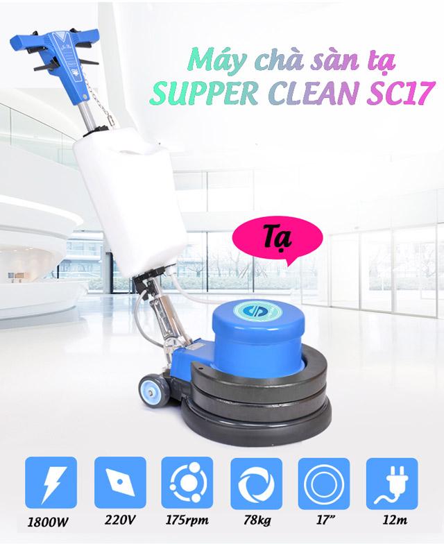 máy chà sàn tạ Supper Clean SC17-5