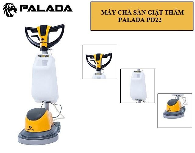 Model chà sàn - thảm công nghiệp Palada PD 22