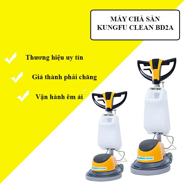 Model chà sàn - thảm công nghiệp Kungfu Clean BD2A