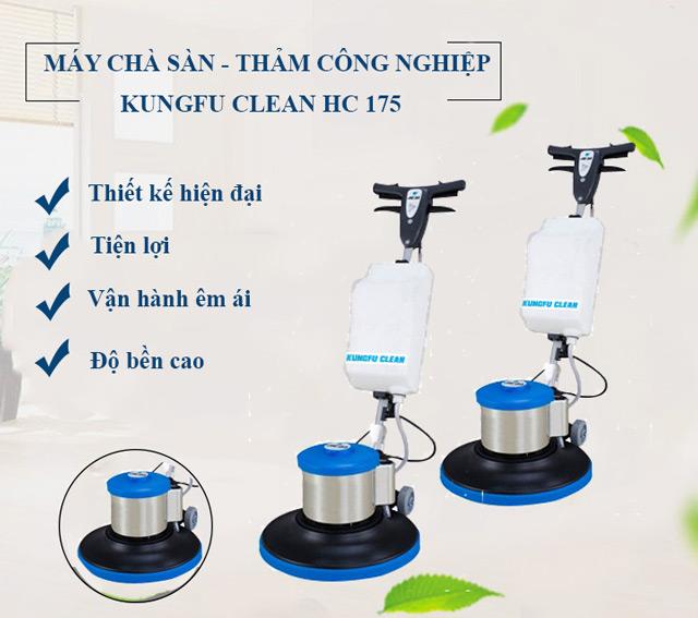 Model chà sàn thảm công nghiệp Kungfu Clean HC 175