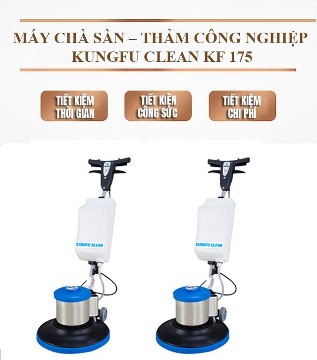 Máy chà sàn - thảm công nghiệp Kungfu Clean KF 175