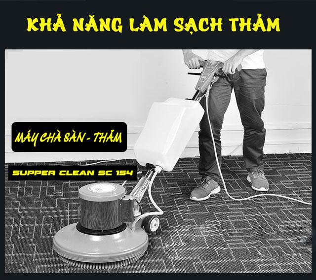 máy chà sàn - thảm Supper Clean SC 154 7