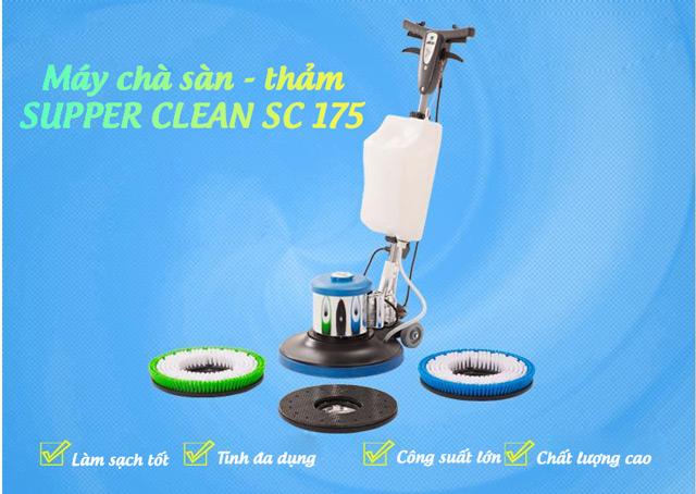 máy chà sàn thảm công nghiệp Supper Clean SC 175