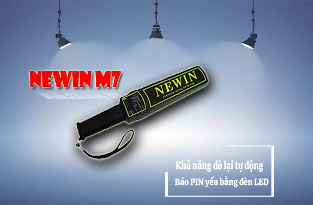 Máy dò cầm tay Newin M7