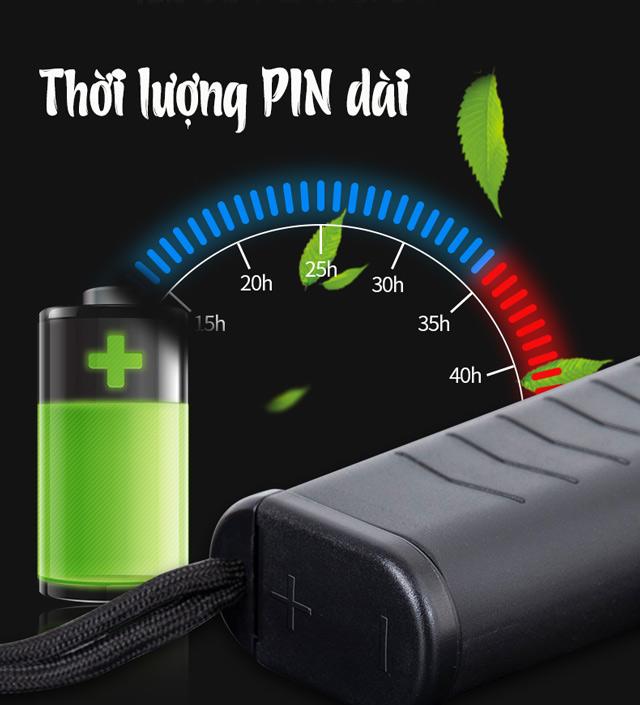 Thời lượng PIN của MD3003B1 dài