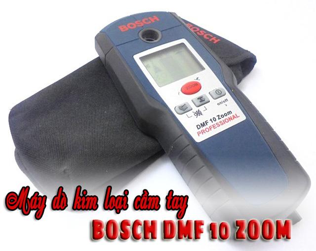 Máy dò kim loại cầm tay Bosch DMF 10 Zoom