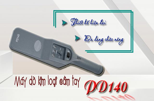 Tính năng của máy dò kim loại cầm tay PD140