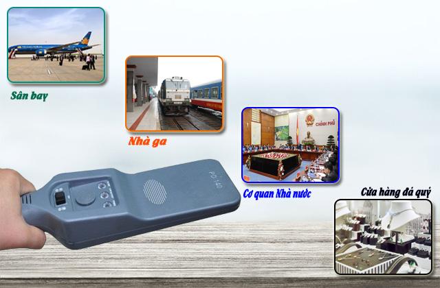 Những ứng dụng trong đời sống của máy dò kim loại cầm tay PD140