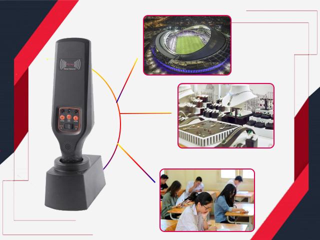 Ứng dụng của máy dò kim loại cầm tay Scanner GP-140