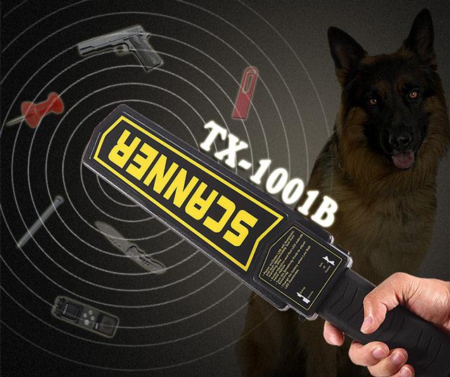 Máy dò kim loại cầm tay Scanner TX-1001B