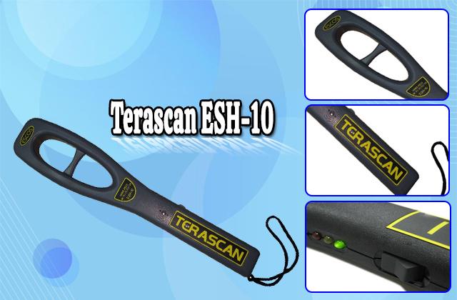 Các bộ phận của Terascan ESH-10