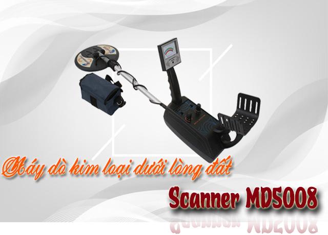 Máy dò kim loại dưới lòng đất Scanner MD5008