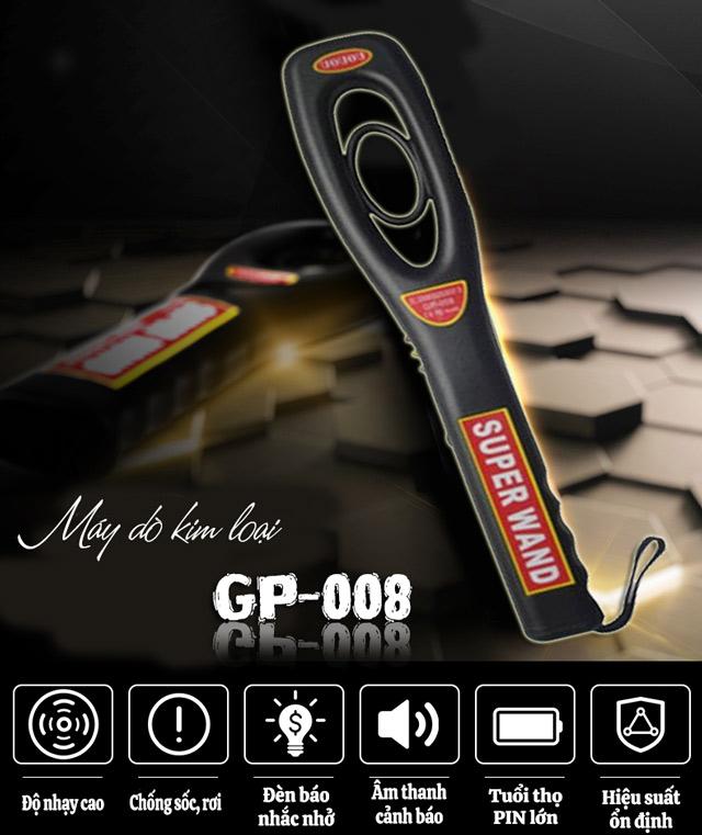 Máy dò kim loại GP-008