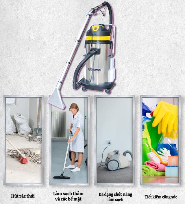 Kumisai KMS 401 đa chức năng vệ sinh