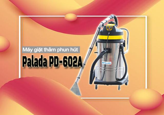 Máy giặt thảm phun hút Palada PD-602A