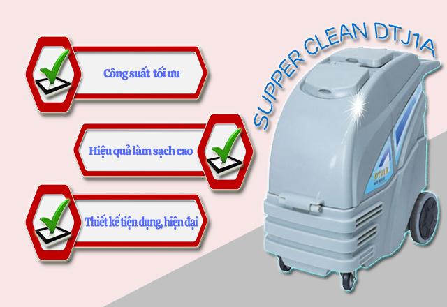 Ưu điểm khi sử dụng máy giặt thảm Supper Clean DTJ1A