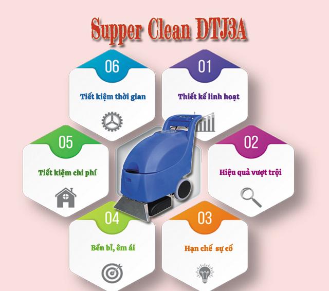 Máy giặt thảm Supper Clean DTJ3A