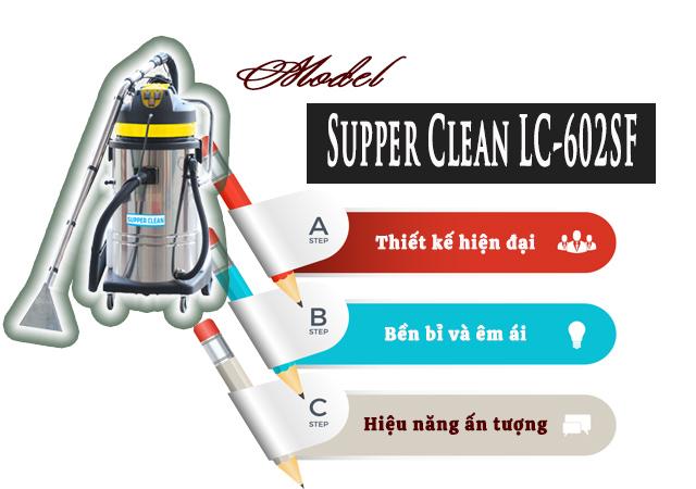 Máy giặt thảm Supper Clean LC-602SF