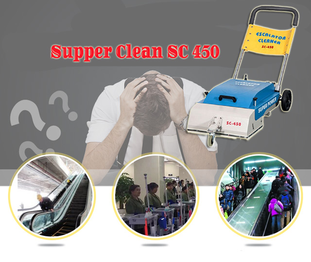 Máy làm sạch thang máy Supper Clean SC 450
