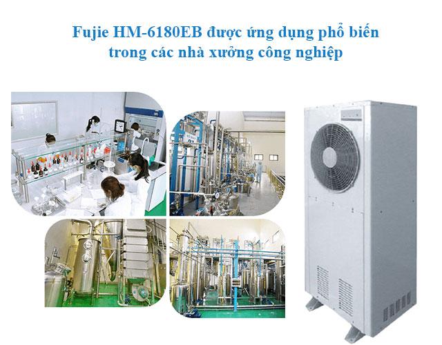 Fujie HM-6180EB được ứng dụng trong nhiều lĩnh vực công nghiệp