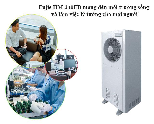 Fujie HM-240EB mang đến môi trường làm việc lý tưởng cho mọi nhân viên