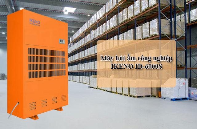 máy hút ẩm công nghiệp Ikeno ID-6000S