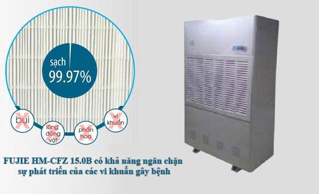 Máy hút ẩm công nghiệp FUJIE HM-CFZ 15.0B