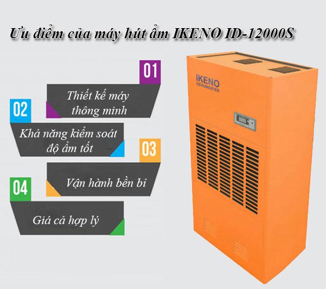 máy hút ẩm IKENO ID-12000S