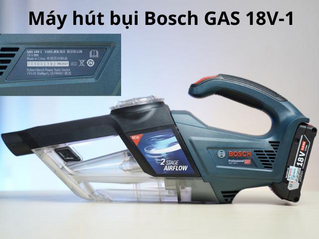 máy hút bụi Bosch gas 18v-1