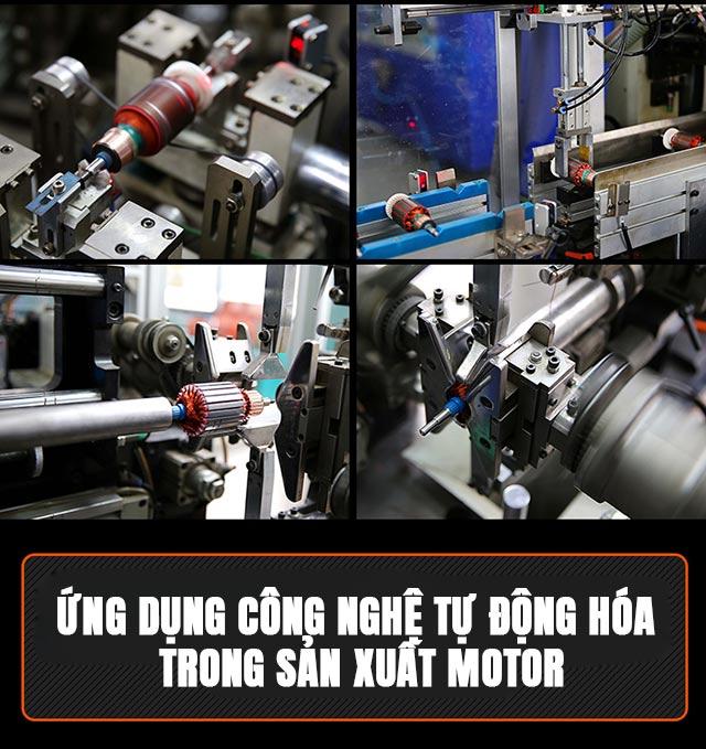 Thiết bị có hiệu suất cao, mang lại hiệu quả làm việc tốt nhờ motor siêu khỏe