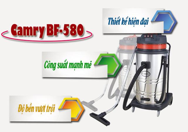 Những ưu điểm khi sử dụng máy hút bụi công nghiệp Camry BF-580