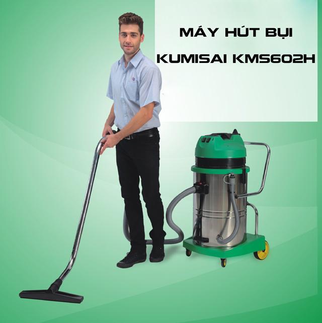 máy hút bụi công nghiệp công suất lớn Kumisai KMS602H