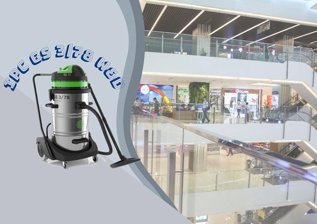 Máy hút bụi công nghiệp IPC GS 3/78 W&D - thiết bị vệ sinh NHANH CHÓNG - HIỆU QUẢ