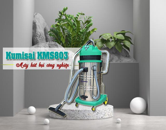 Model máy hút bụi công nghiệp Kumisai KMS803