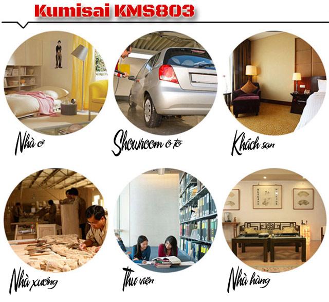Ứng dụng rộng rãi thực tế của Kumisai KMS 803