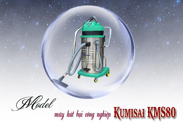 Máy hút bụi công nghiệp Kumisai KMS80