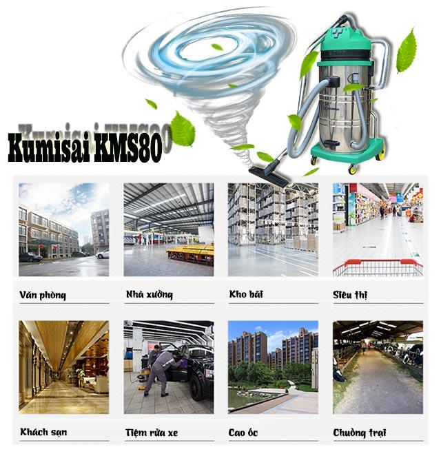 Kumisai KMS80 được ứng dụng rộng rãi