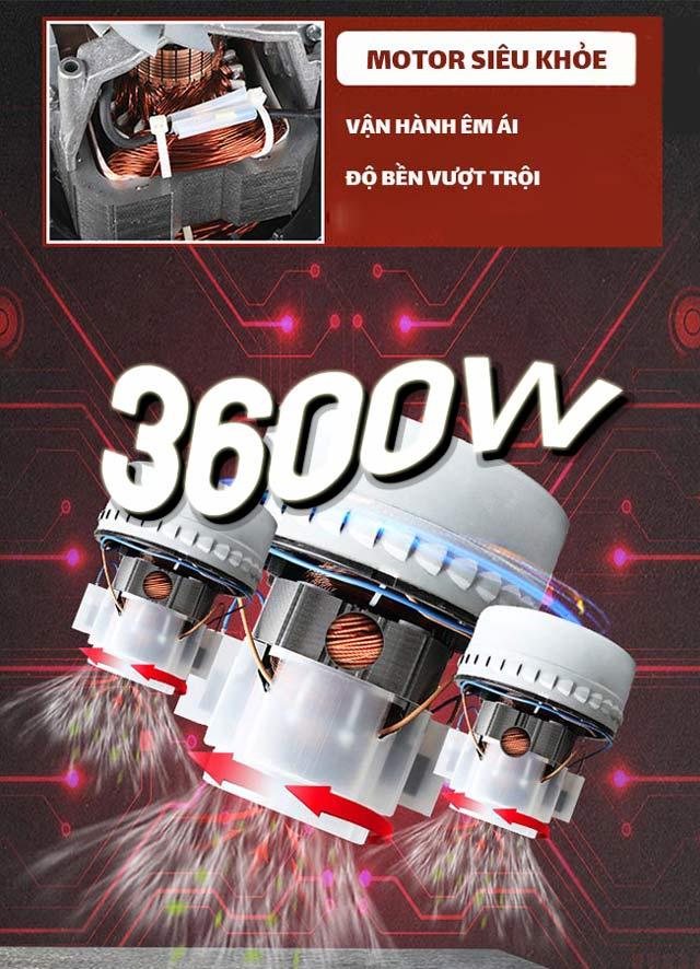 Động cơ của Kumisai KMS80 mạnh mẽ